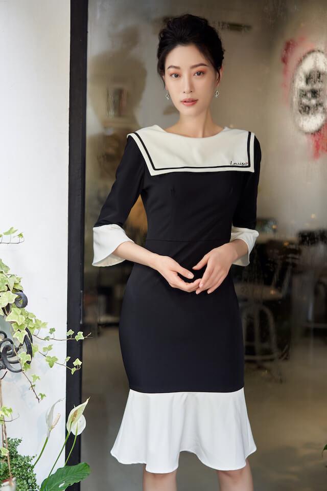 Keira Black Dress