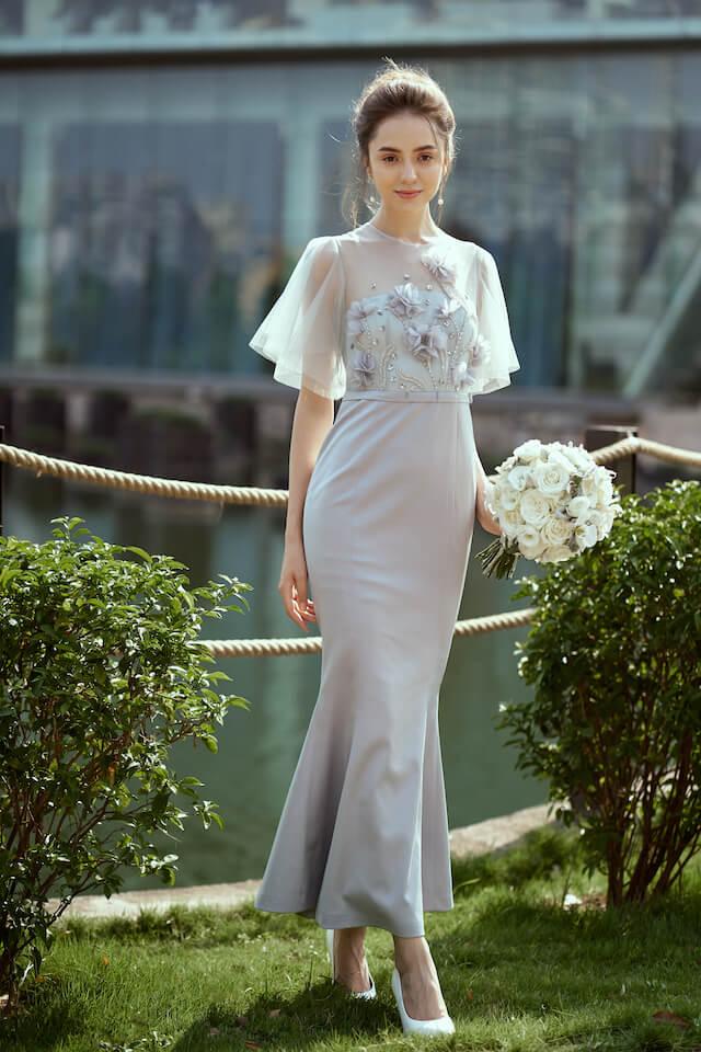 Sarangne Long Dress