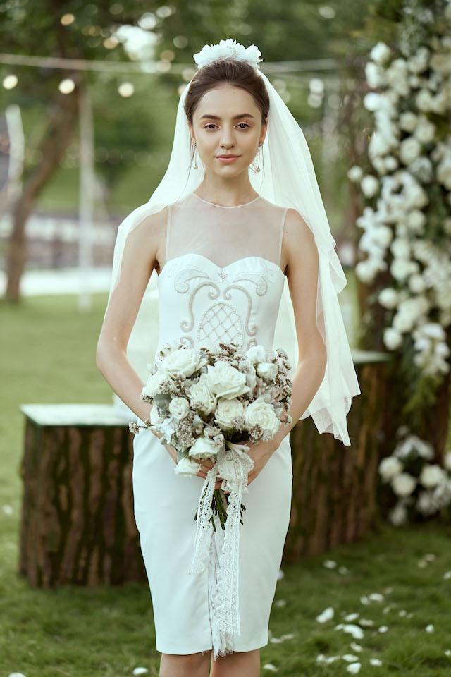 Elita Marie Short Dress
