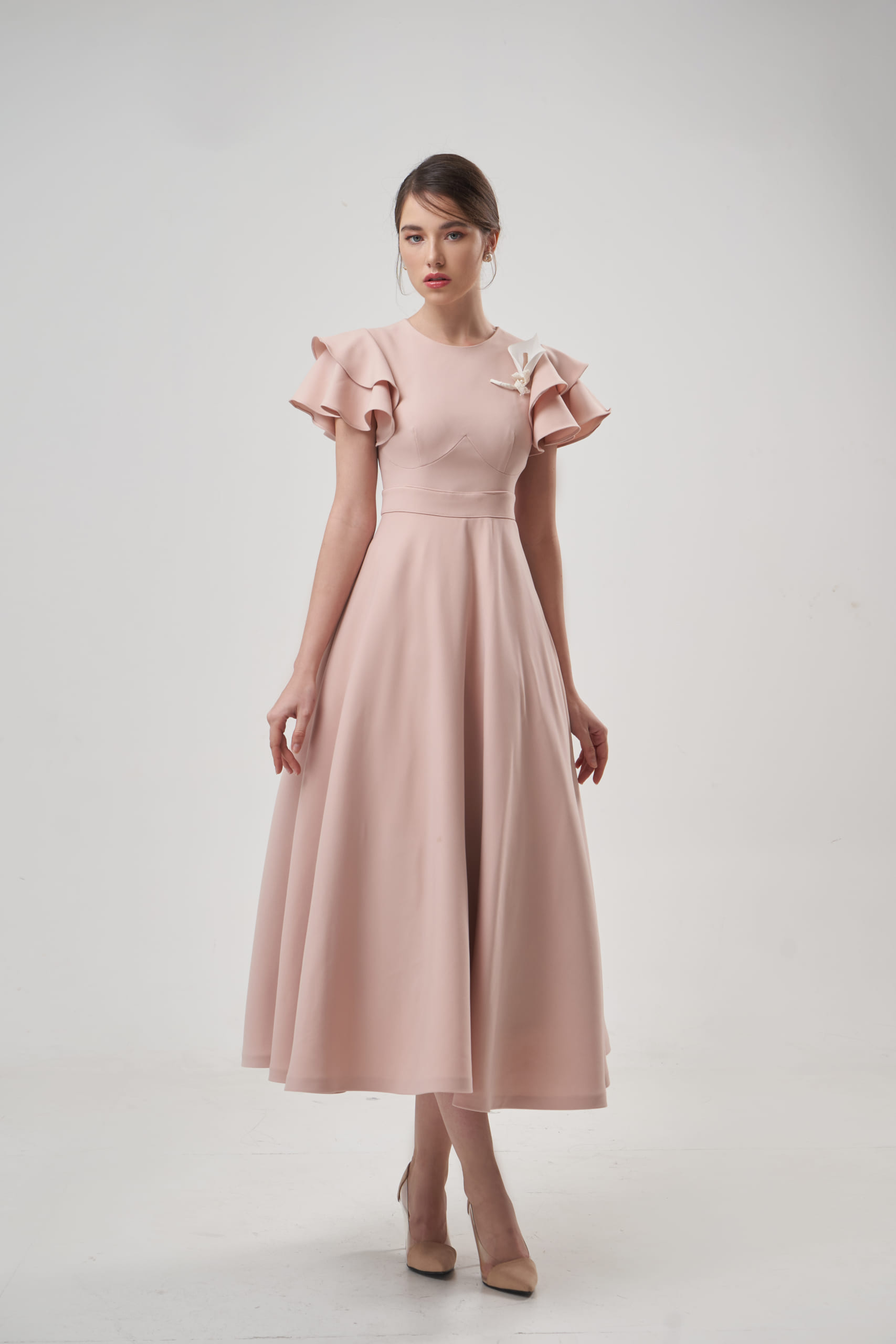 Middle Rose Dress